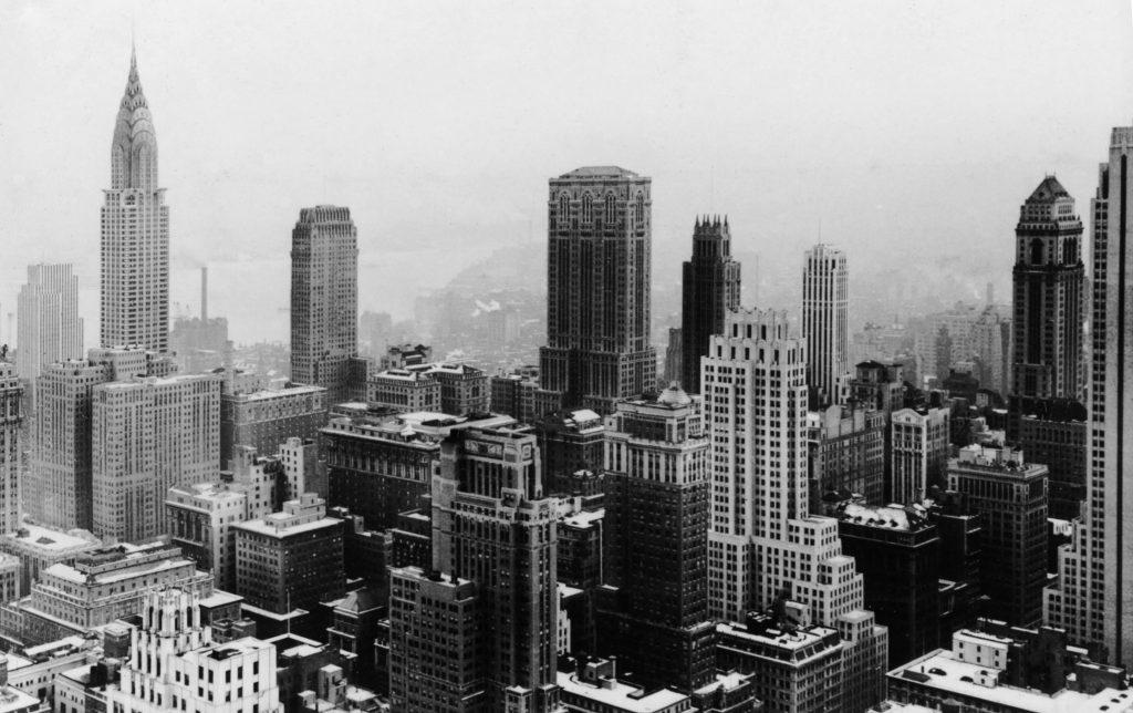 Manhattan widziany z Rockefeller