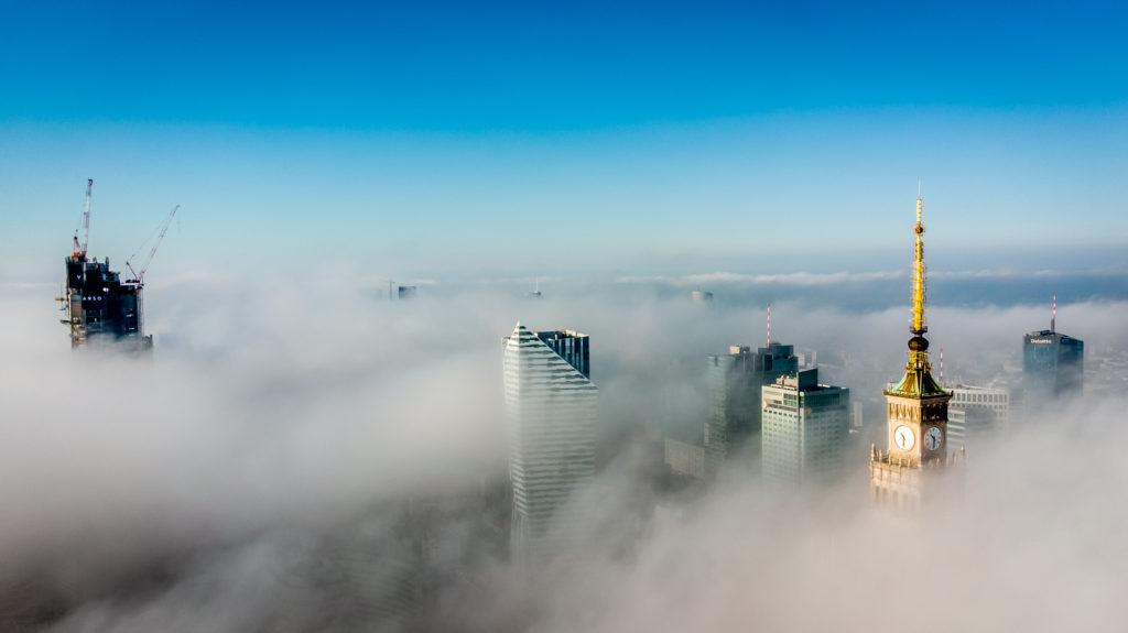 Zdjęcia - Warszawa we mgle