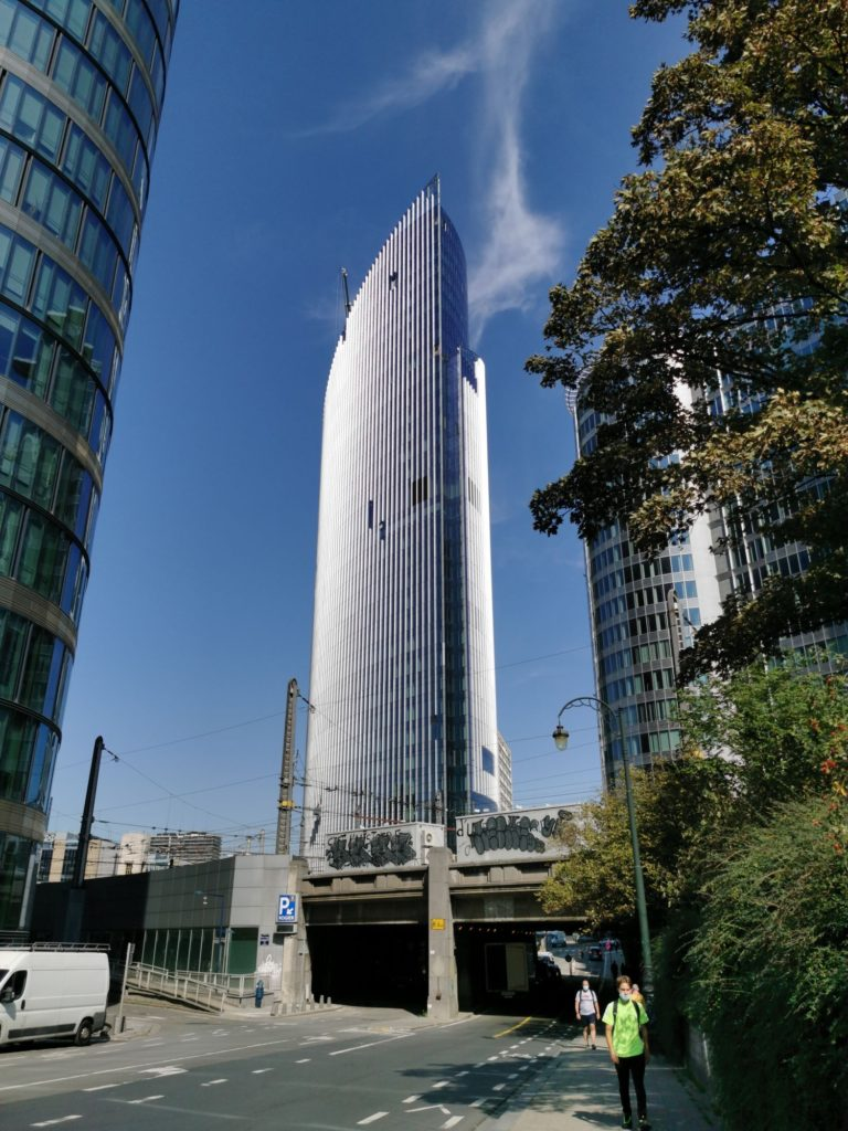 Silver Tower, Bruksela, Ghelamco, fot. materiały prasowe