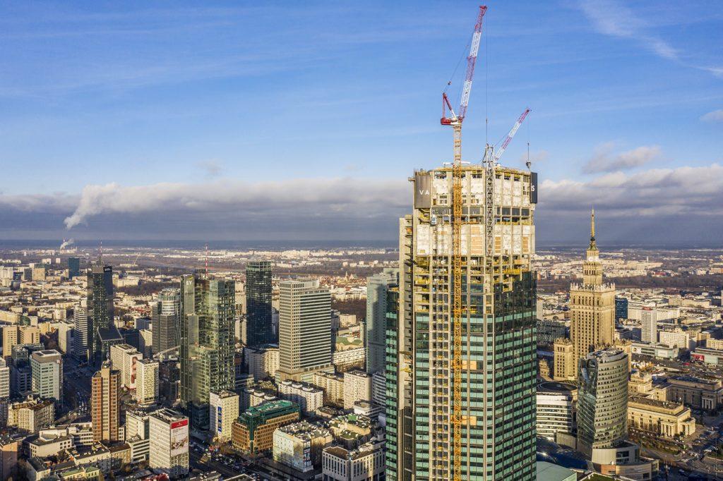 Varso Tower - rekord