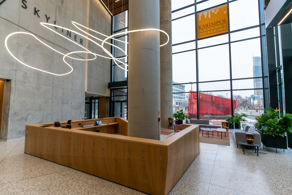 Lobby wieżowca