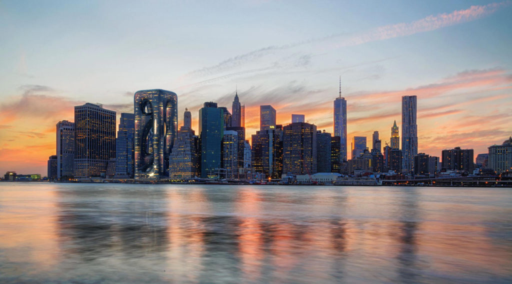 Panorama Nowego Jorku