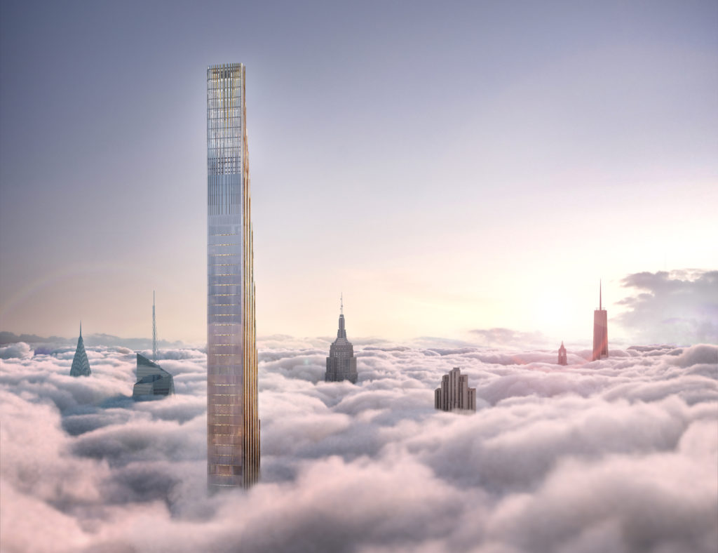 West 57th Street ponad chmurami