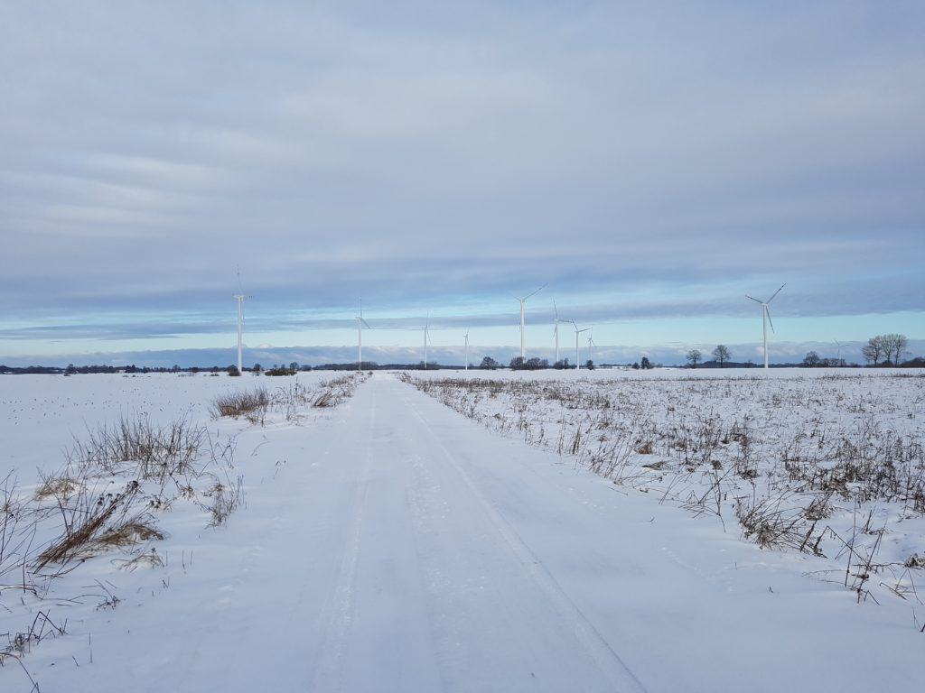 Farmy wiatrowe dla Centrum Południe