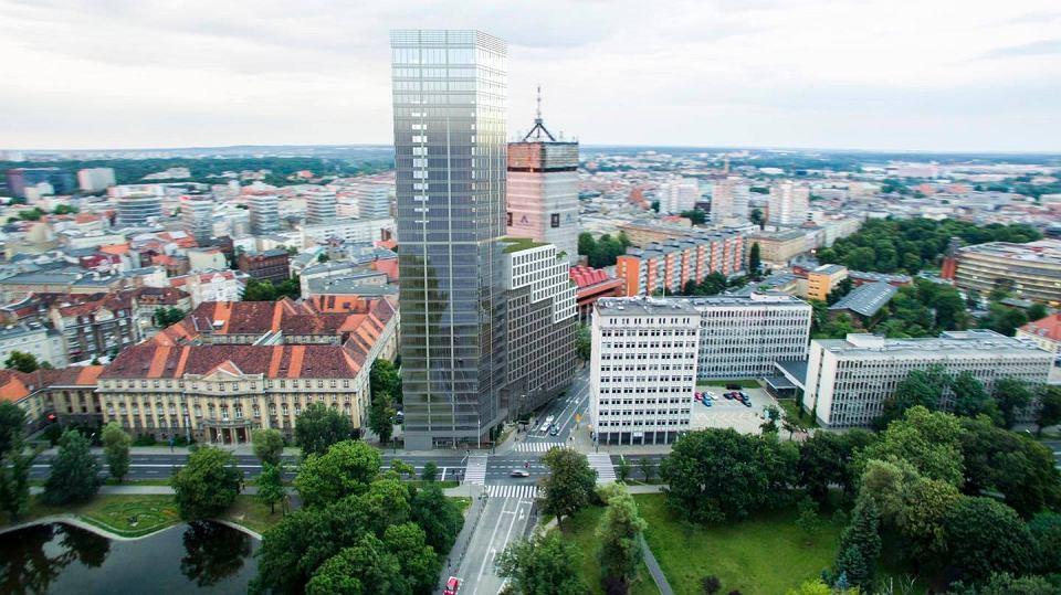 Poznań. Powstanie nowy 115-metrowy wieżowiec?