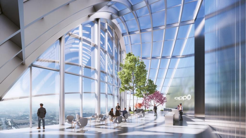 O-Tower, nowa siedziba R&D Oppo