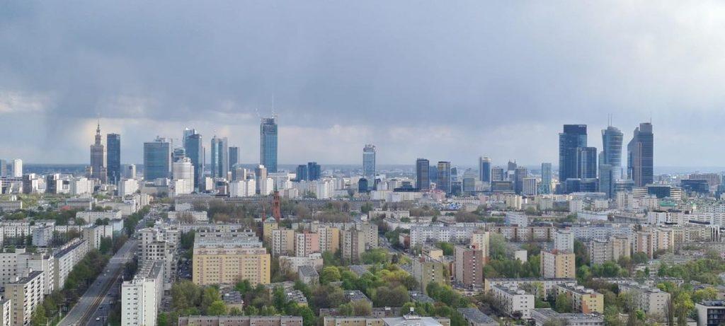 Warszawa i jej wieżowce