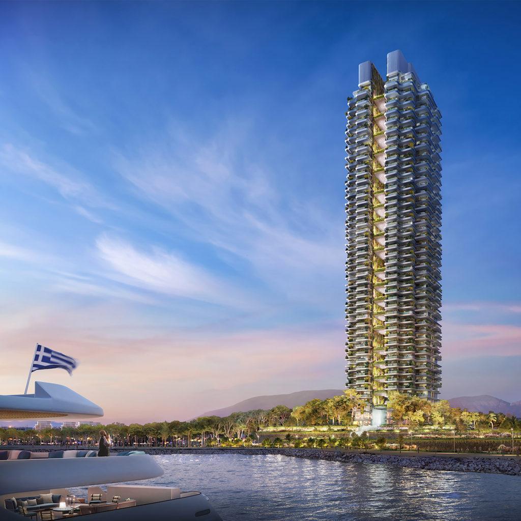 Grecja, Marina Tower